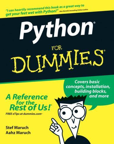 pythonfordummies-book