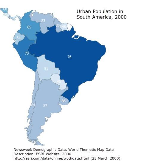 Brazil-QGIS