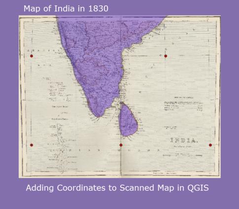 QGIS_India_Coordinates